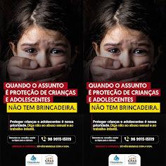COMBATE À VIOLÊNCIA SEXUAL DE CRIANÇAS E ADOLESCENTES.