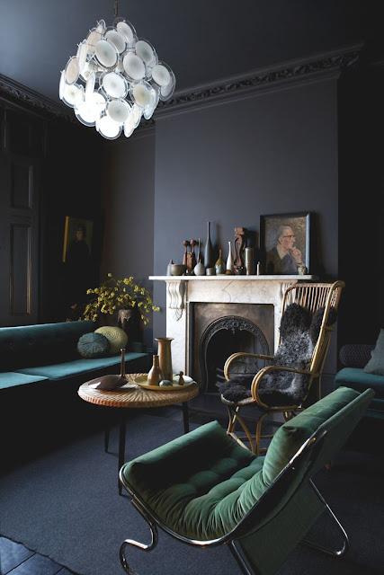 Einrichtung mit Design und Farbe in London - so geht lässige Gemütlichkeit im 1960er Jahre Stil: Wohnzimmer