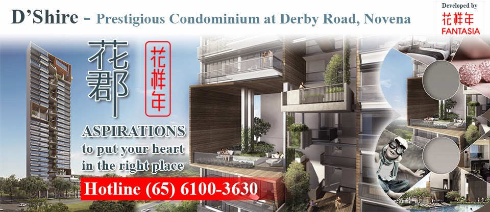 D'shire @ Derbyshire  - Lastest condominium at Novena
