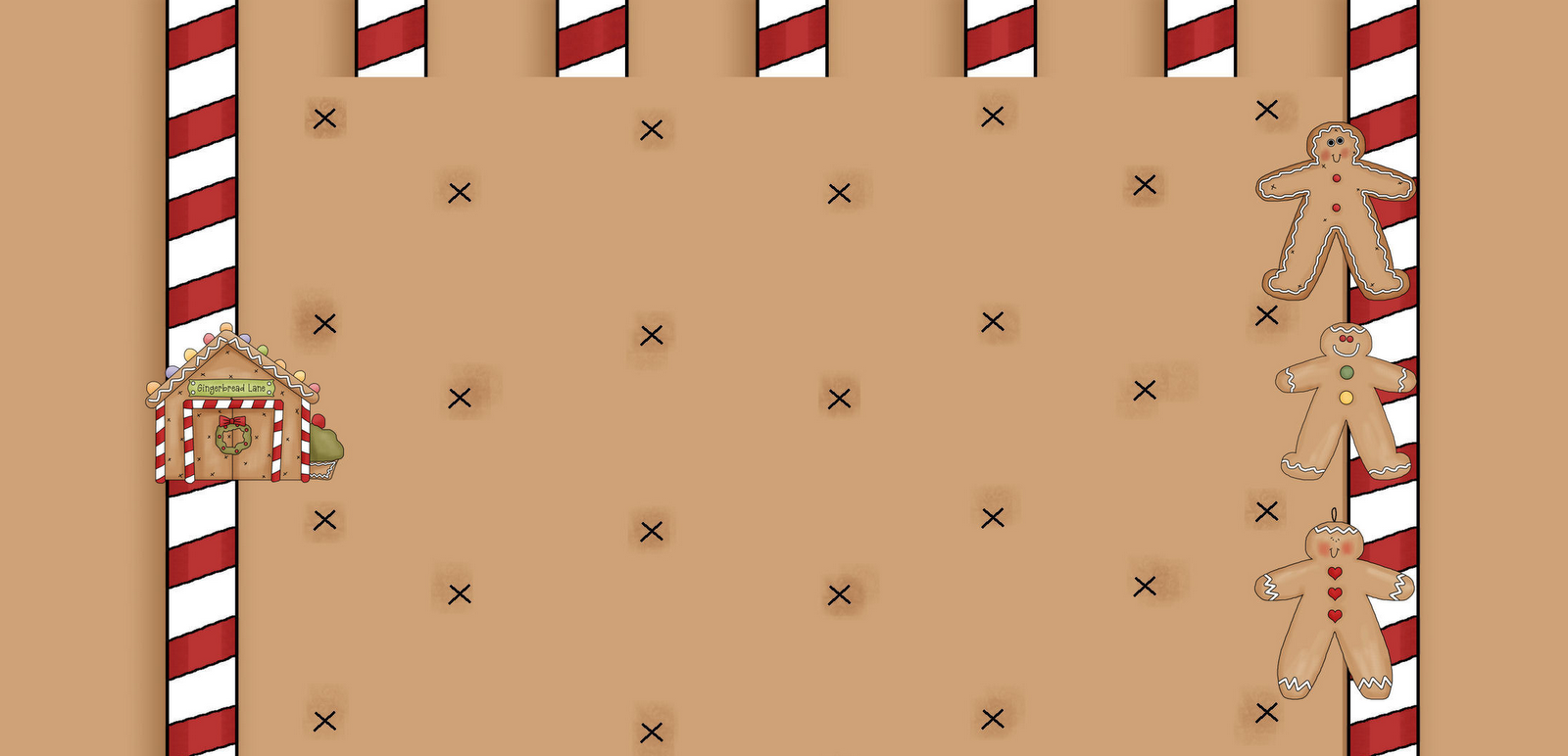 ... and new free blog background for christmas called gingerbread house