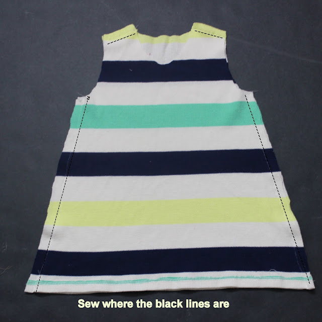 how to sew A line dress