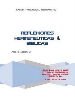 Arie C. Leder V.-Reflexiones Hermeneuticas & Biblicas-