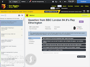 FM14 Deadline day question