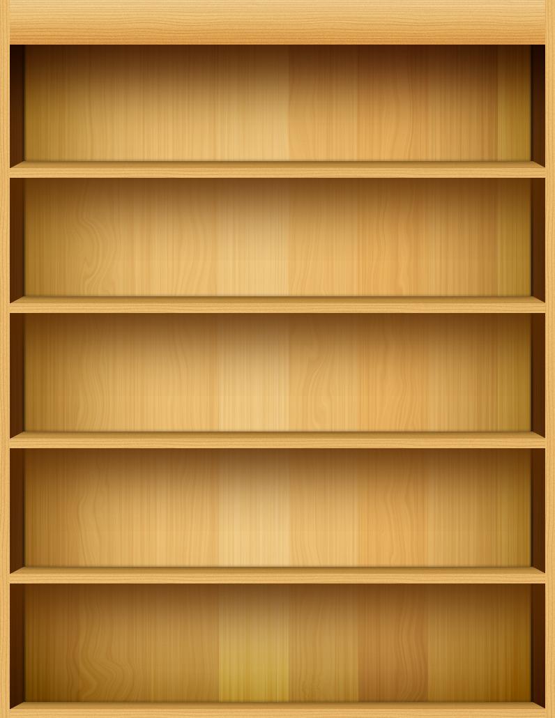Creaciones photoshop estanteria - Librerias de pared ...