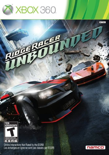 Racing Games For Xbox 360 : Ridge racer unbounded xbox console