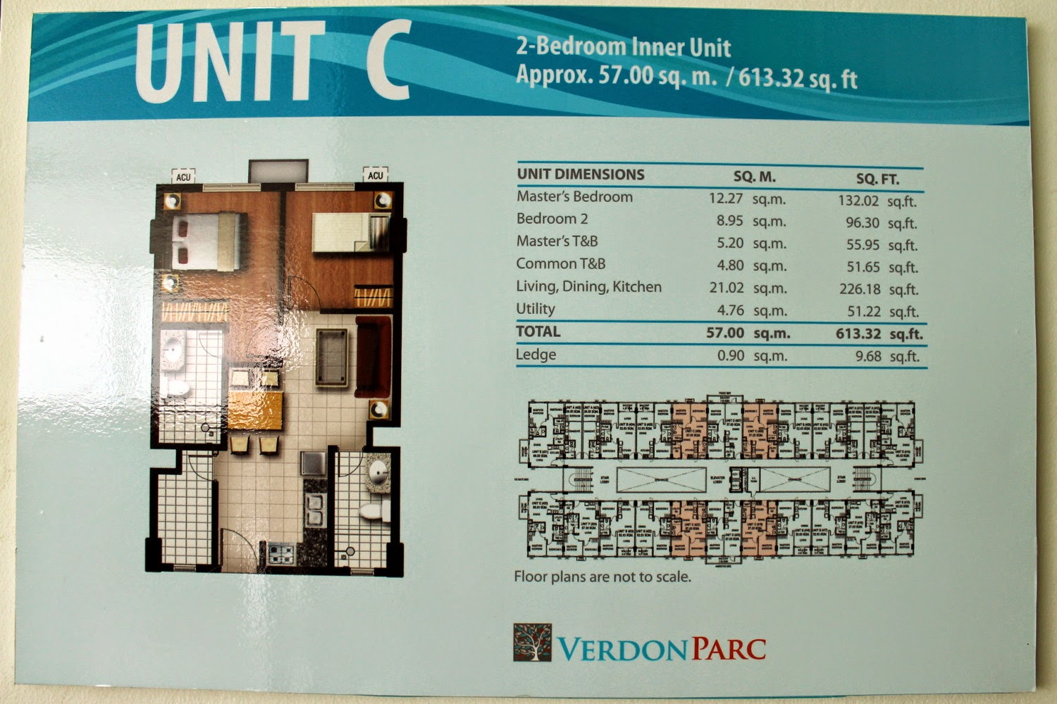 Verdon Parc Unit C (2-Bedroom Inner)
