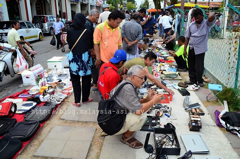 Pasar Karat Lebuh Aceh