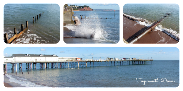 Teignmouth pier in south Devon