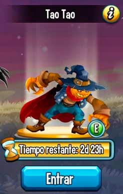 imagen de la segunda mision de la isla halloween de monster legends