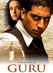 Poster Of Hindi Movie Guru 2007 Full HD Movie Free Download 720P Watch Online