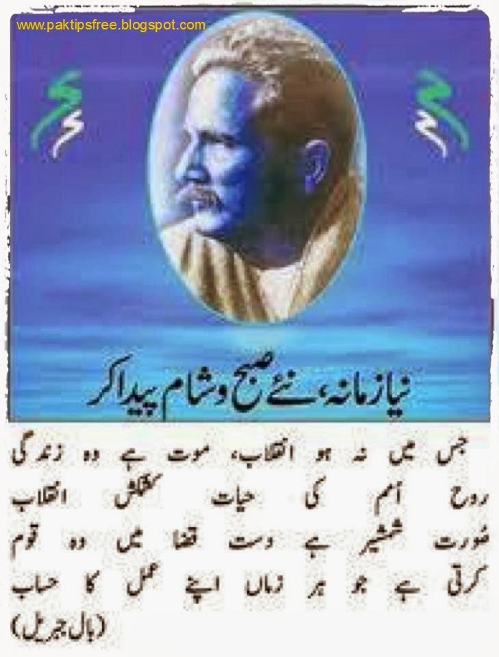 essay on poetry of iqbal