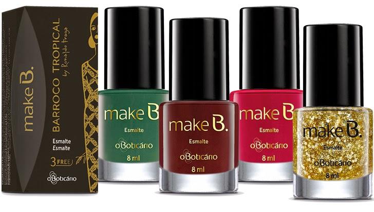 Make B. Barroco Tropical Esmalte