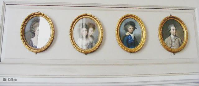 portraits at Castletown House Kildare