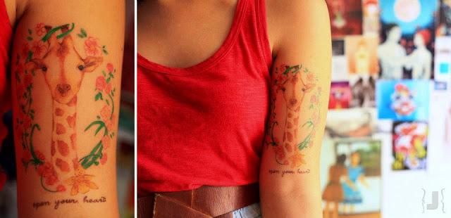 Tatuagem de Girafa - Tattoos