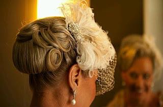 Peinados de Novia Vintage, parte 1
