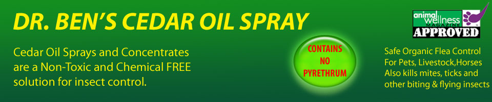 Cedar Oil Spray