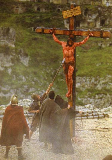 Foto de Jesús crucificado