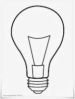 Mewarnai Gambar Bola Lampu Pijar