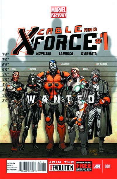 Marvel Cable And X-Force#1
