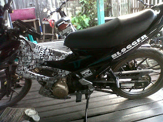 Cutting Sticker Satria FU