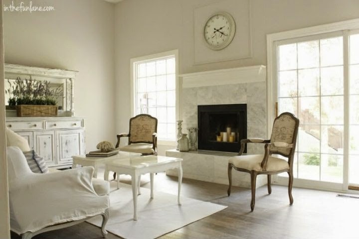 Shabby Chic Furniture Paint Colors On Interior Wall Colors