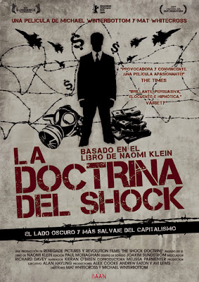 Cartel de la película La doctrina del shock