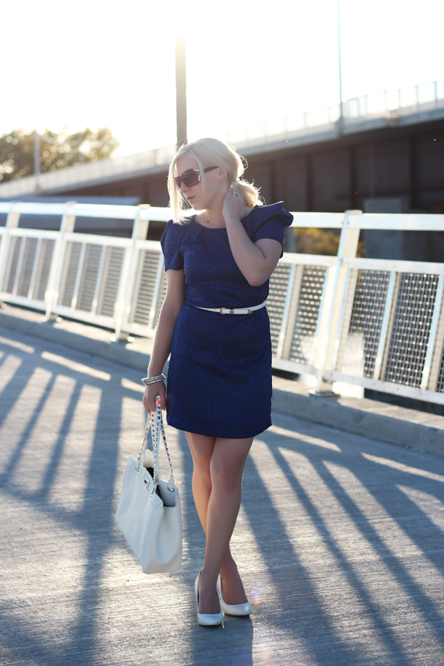 Royal Blue Dress - from Pretty Little Details.