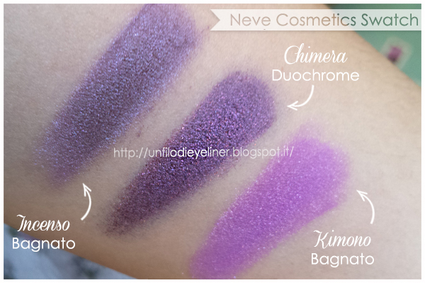 Swatch: Chimera Incenso Kimono - Neve Cosmetics