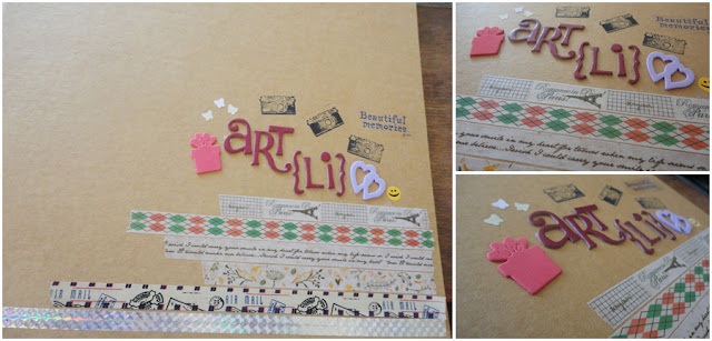 Art Li and Stuff - My very first scrapbook