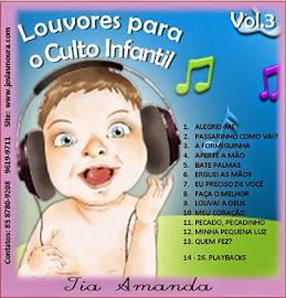 CD Tia Amanda e Sua Turma - Louvores Para o Culto Infantil