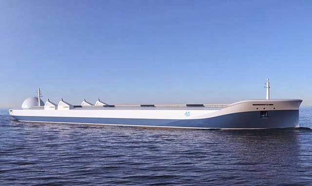 desain kapal kargo drone