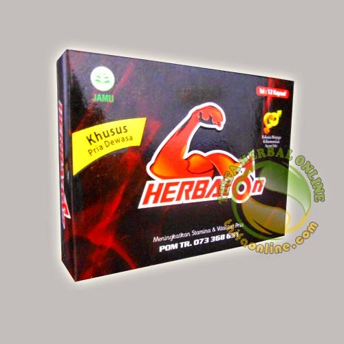 Kapsul Herbaton (Herbal Khusus Pria)