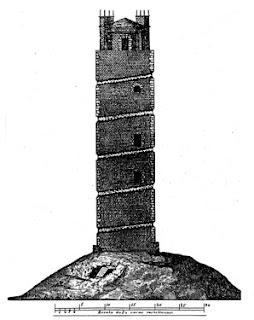 Recreación antiguo faro romano
