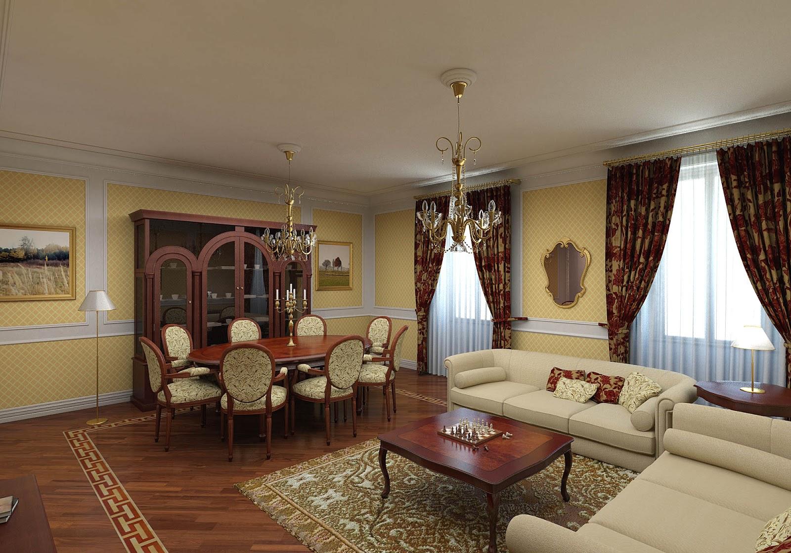 Desain Interior Rumah Gaya Victorian | Desain Rumah Modern