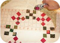 ProsperitySutff Round Christmas Mini-Quilt Trim