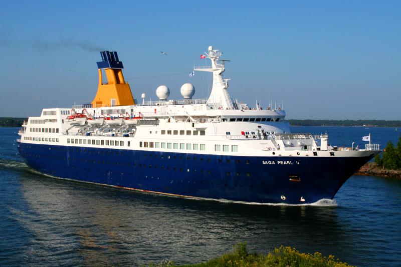Kships Saga Pearl II In Helsinki 11 June 2011