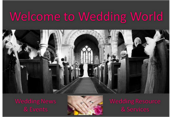 Wedding World - Getting Married Resource Website