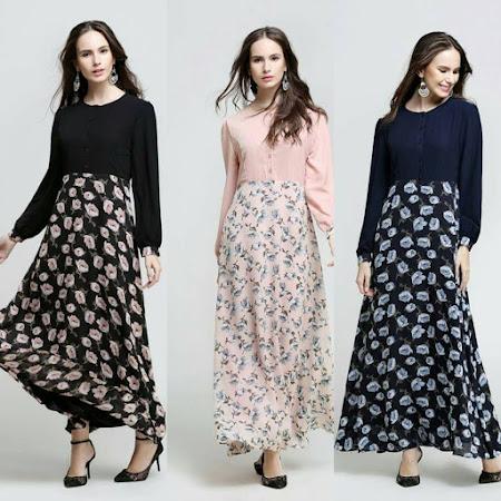 Pelbagai Koleksi Jubah Dan Dress 2016 Boleh Anda Miliki Sekarang