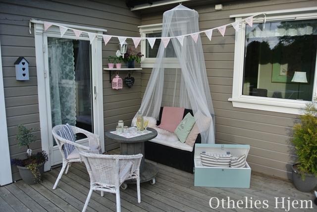 Othelies hjem: uteplass på budsjett   tips & triks!
