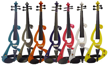EnergeticType of Cecilio Violins Colorful