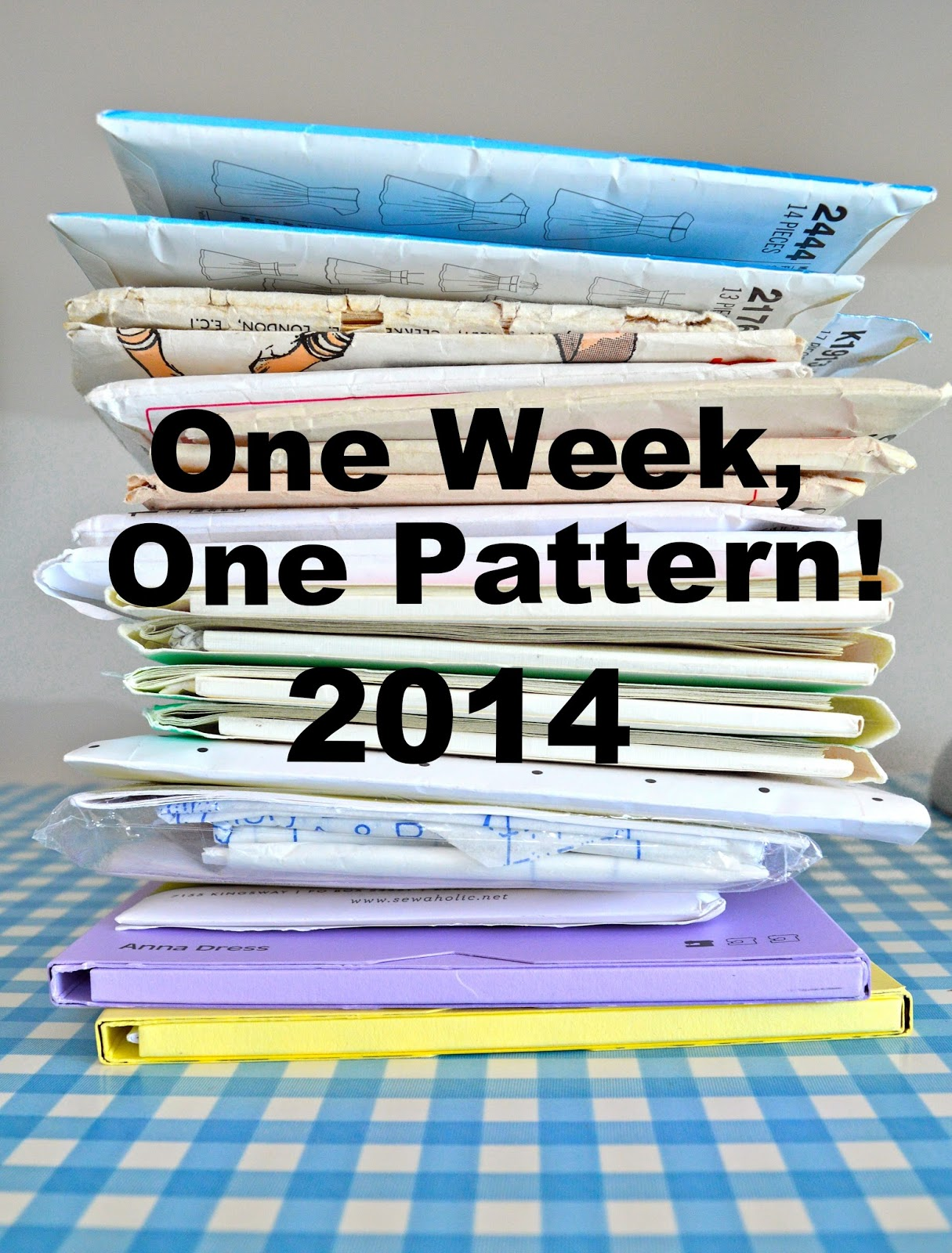 One Week, One Pattern 2014