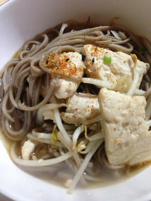 How to Cook Soba noodle soup