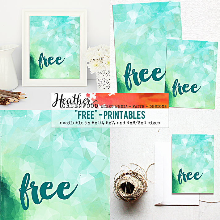 "I love the Christian meaning behind the word ""Free"". I'm sharing why and a new printables release in my Etsy shop."