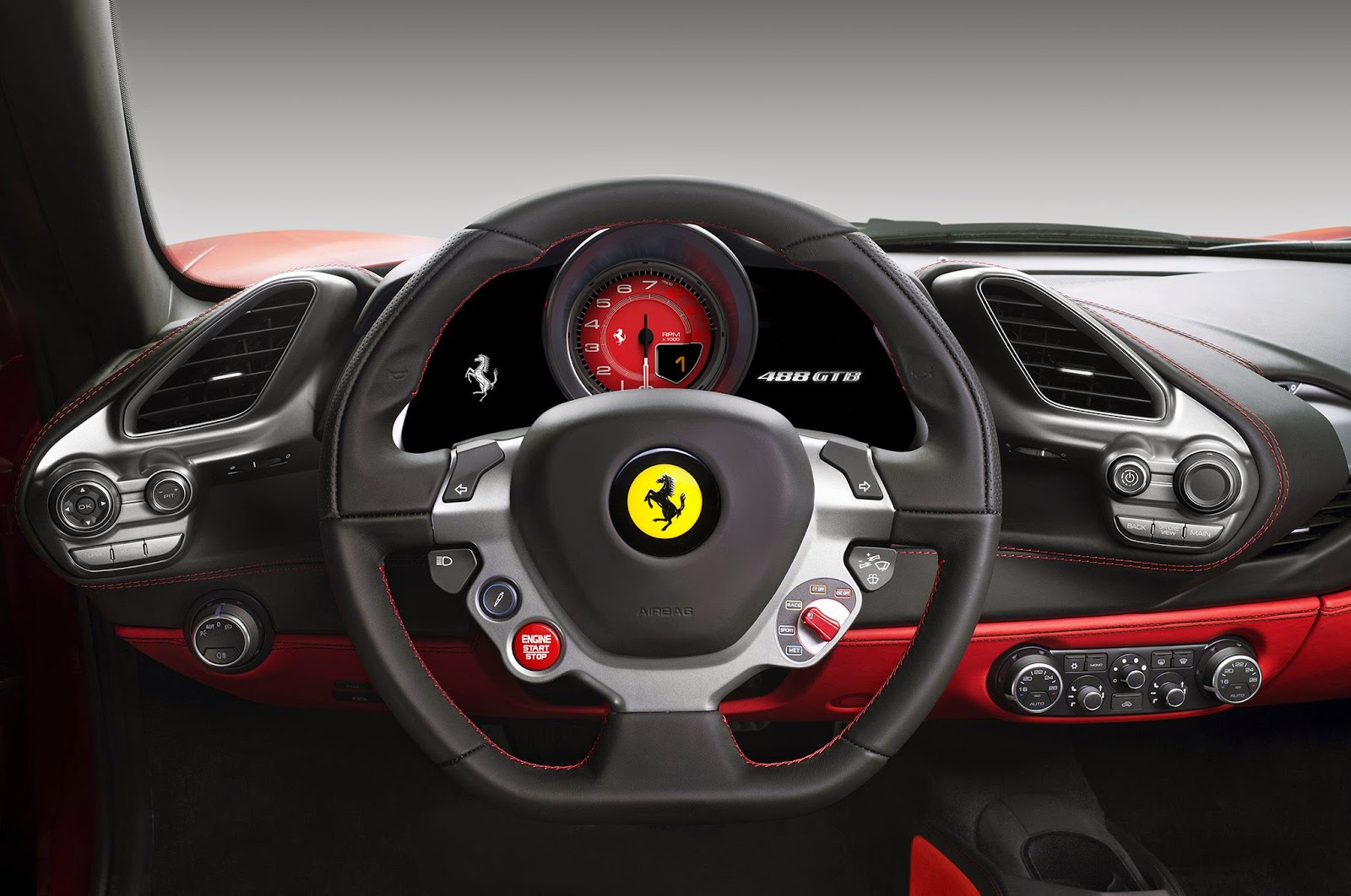 ferrari 488 gtb interior - Ferrari 2014 Enzo Interior