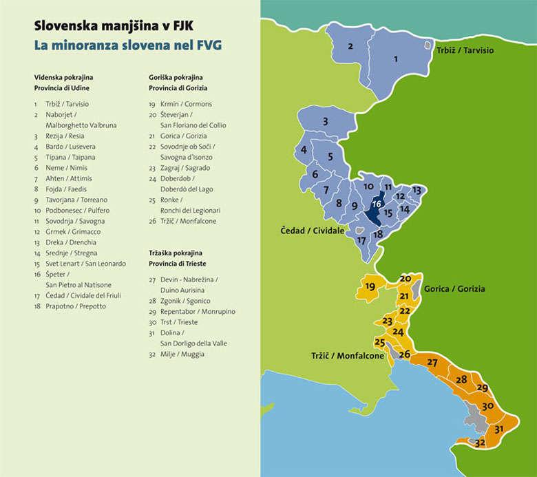 Minoranza slovena in FVG