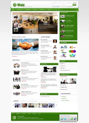 Share template JV Maju - Joomla 1.5