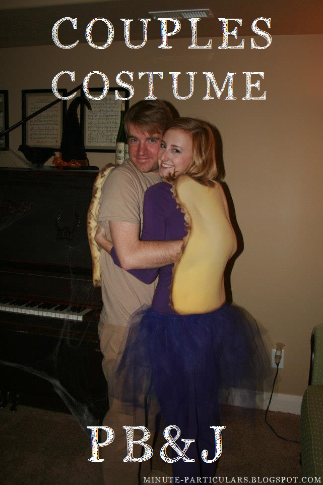 Diy Pb Amp J Couples Costume The Glitter In My Tea