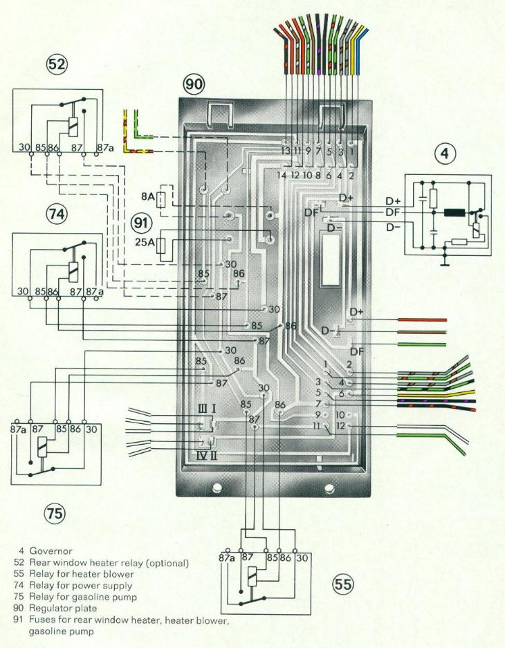 free auto wiring diagram  1971 porsche 914 electrical