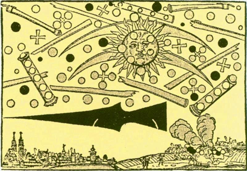 UFO 'battle' over Nuremberg, Germany in 1561