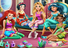 Disney Princesses Pyjama Party